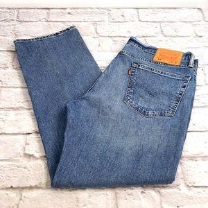 Levi's 514 Men's Straight Fit Jeans size 36x32